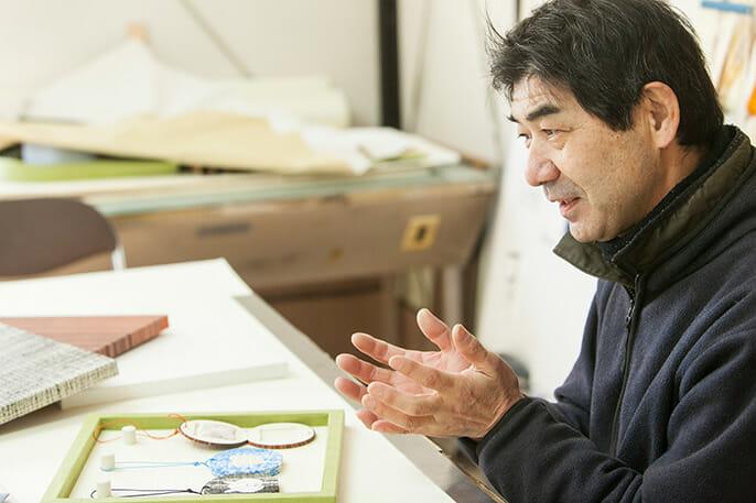 湯島アート代表 一色 清